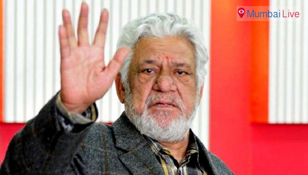 Om Puri consigned to flames