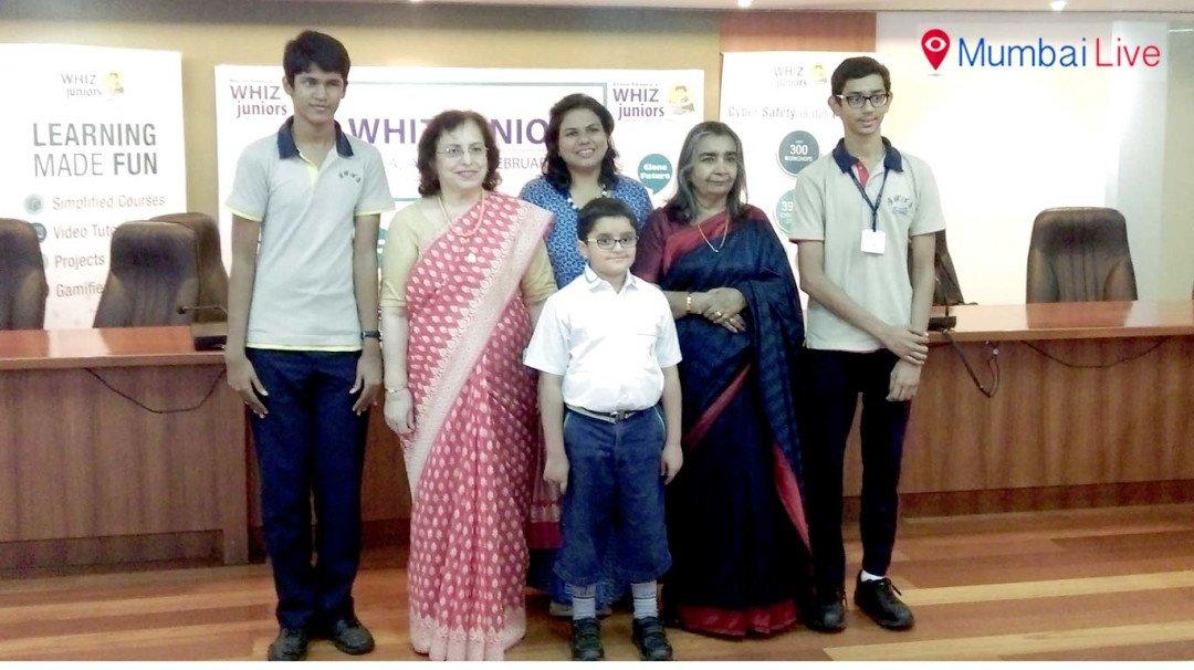 विज ज्युनियर में भाव्या शाहा बनी विजेता