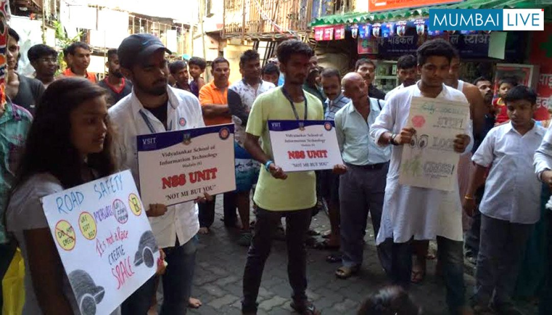 Wadala's 'Road Safety' awareness