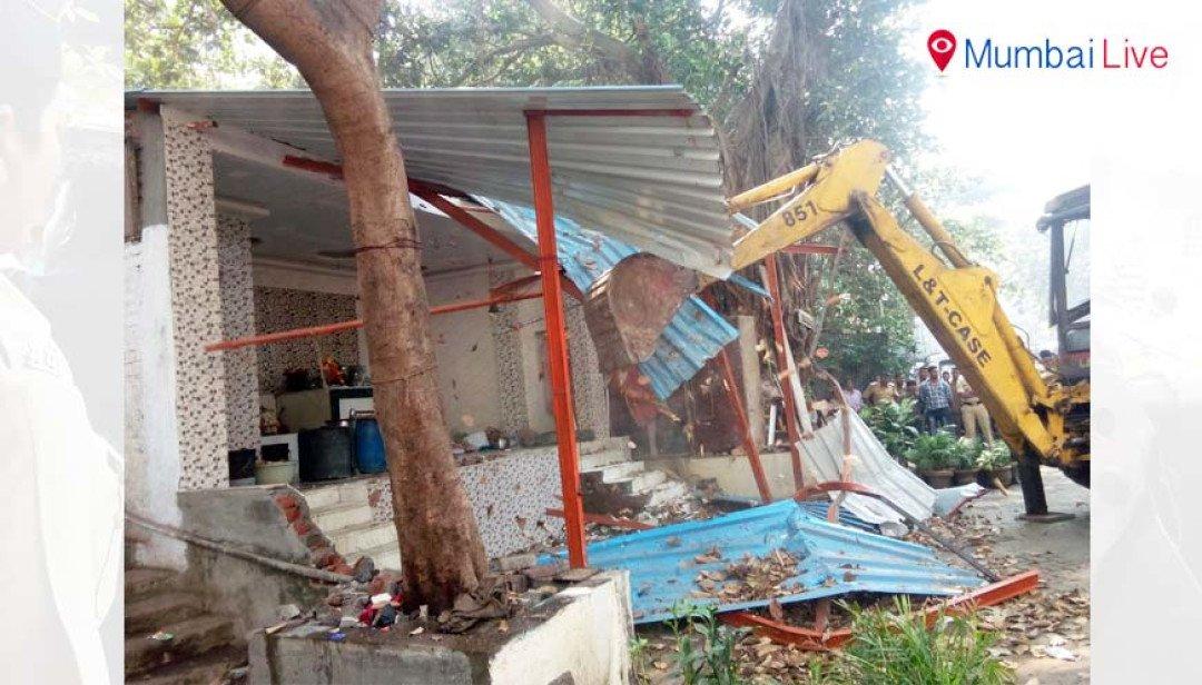 Saidham temple demolished