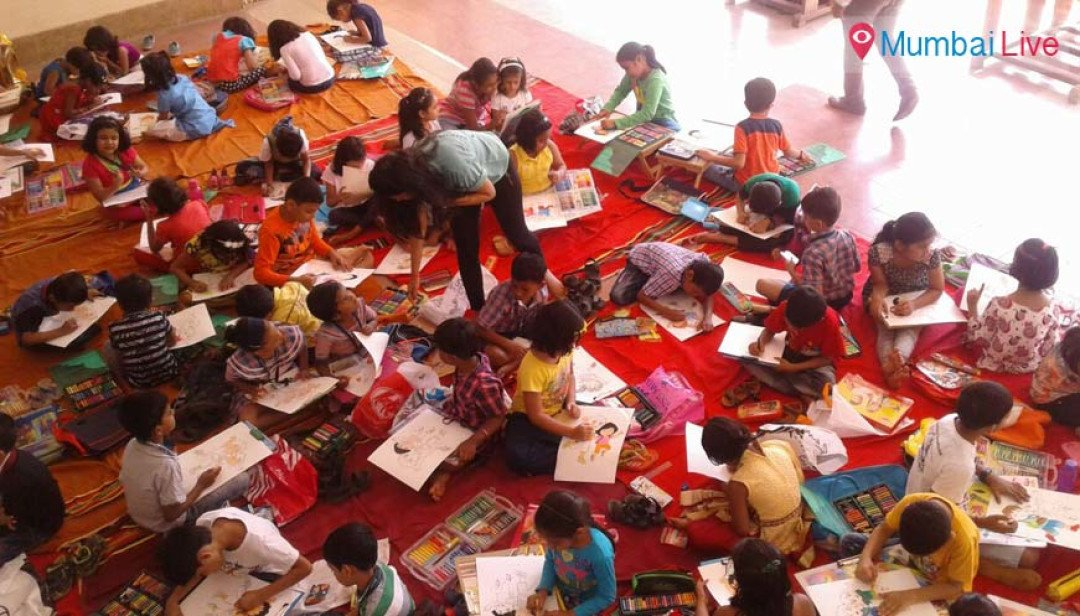 Kids rejoice drawing competition