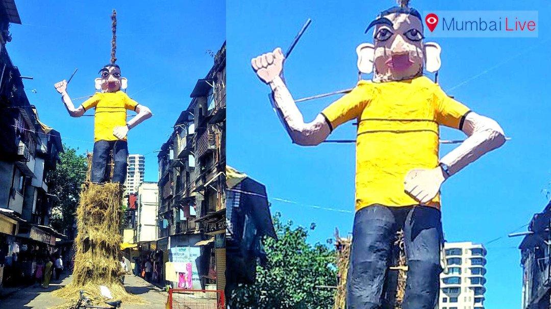 यहां जलेगा पुलिस के हत्यारे का पुतला
