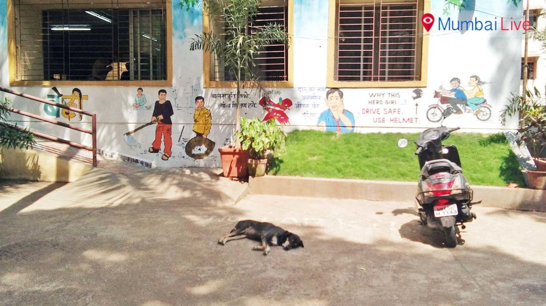 Guess why Ghatkopar police station is decked in artwork?