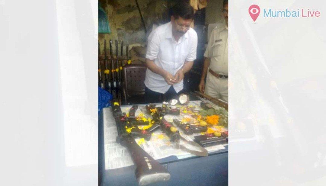 VIjayadashmi celebration by Railway Police
