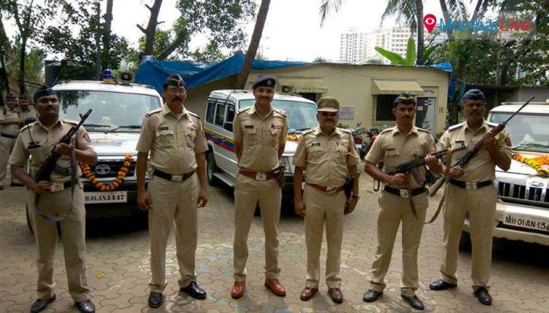 Police celebrate Vijayadashami
