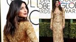 Priyanka's 'plunge' at the Golden Globes