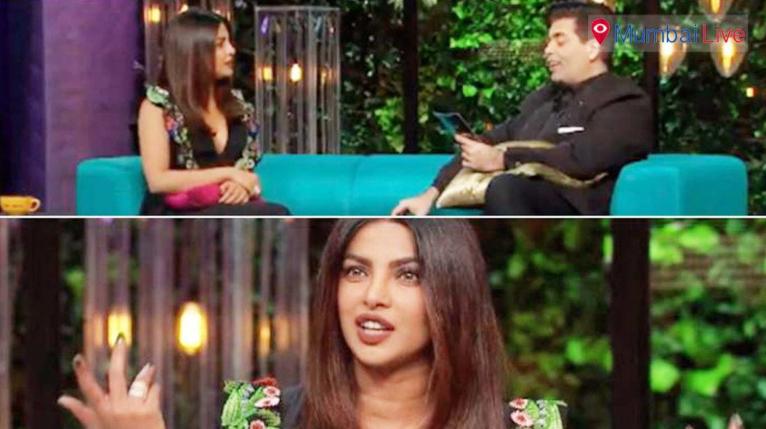 Ouch! Priyanka's Alia moment on the couch