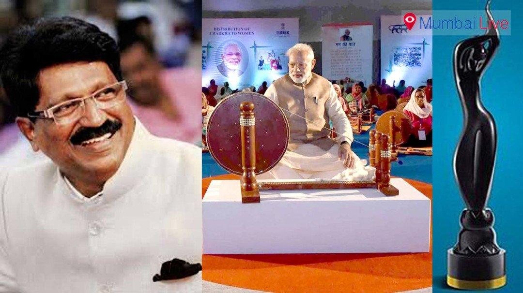 Khadi: Sena against Modi replacing Bapu