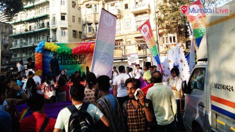 'क्विर हग'तर्फे प्राईड मार्चचे आयोजन