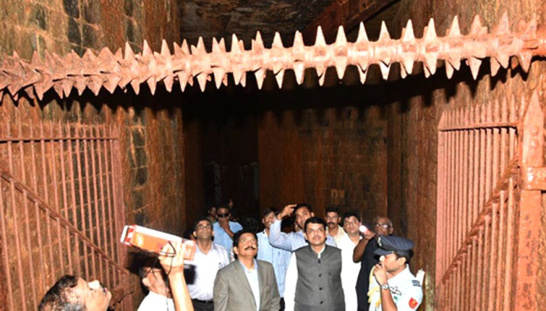 Governor discovers ancient bunker at Raj Bhavan