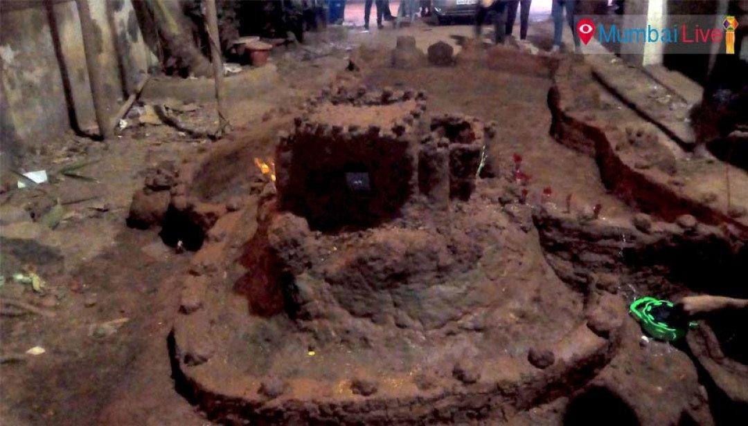 DS Vidyalaya students create replica of Kumbhalgad fort