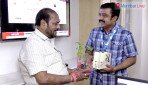 मुंबई लाइव के ऑफिस में रामदास कदम के 'कदम'