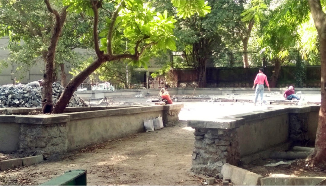 Beautification of Jijamata Garden