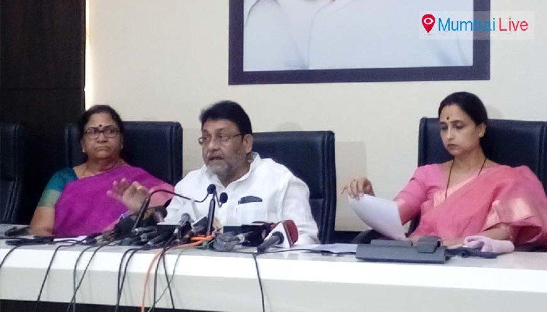 एनसीपी और कांग्रेस में गहमा गहमी