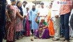Ravindra Waikar initiates development work in Jogeshwari