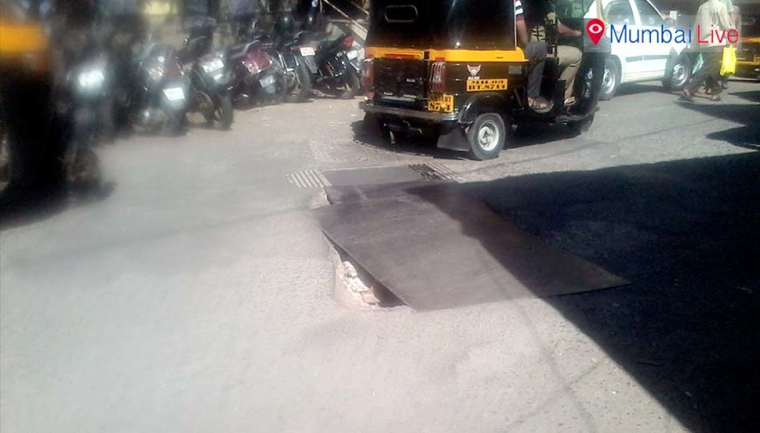 BMC sleeps over pending road repair