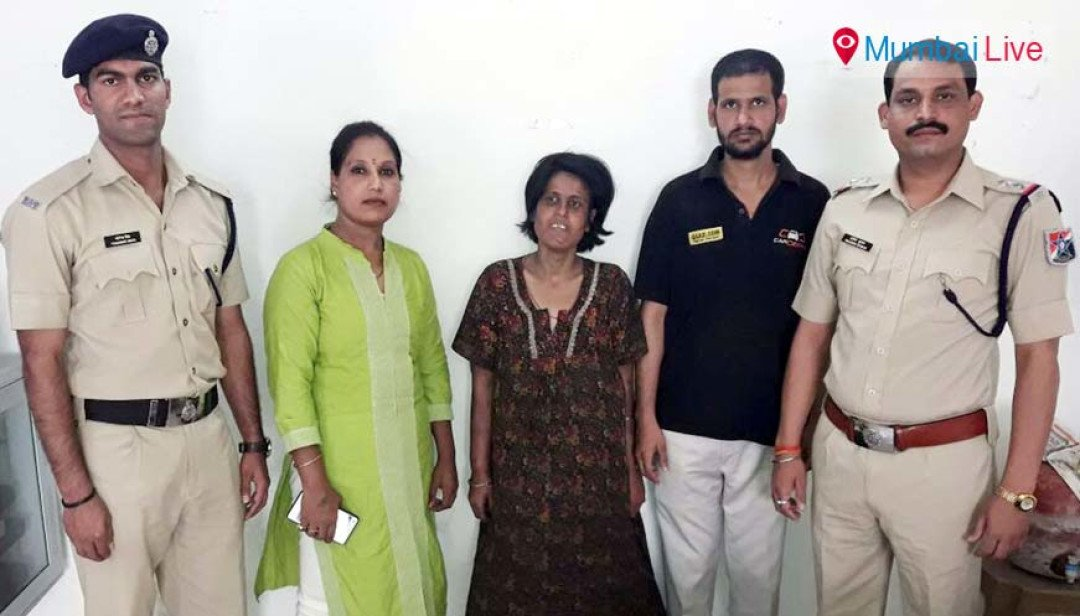RPF reunites missing woman with family