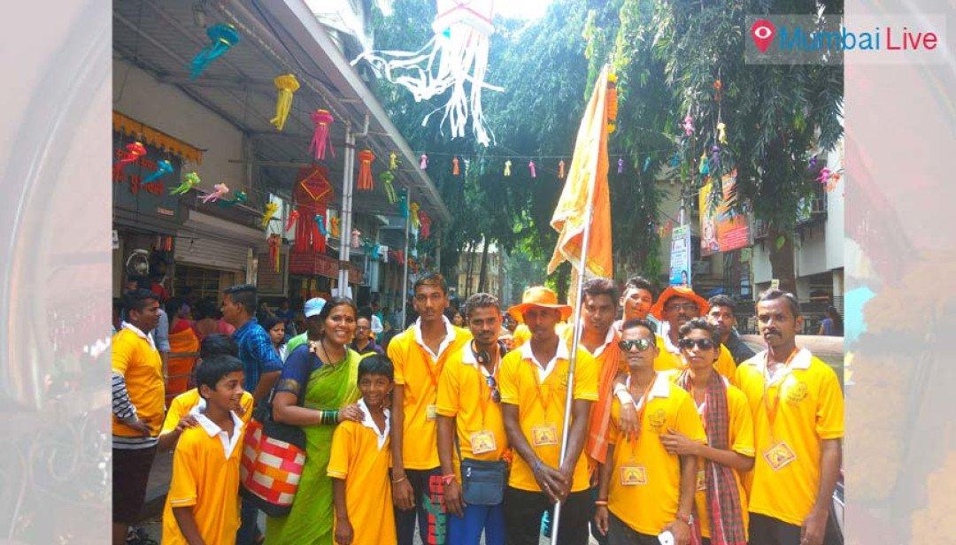 Sai palkhi organised