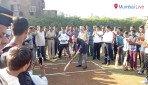 क्रिकेट के जरिए शांति का संदेश