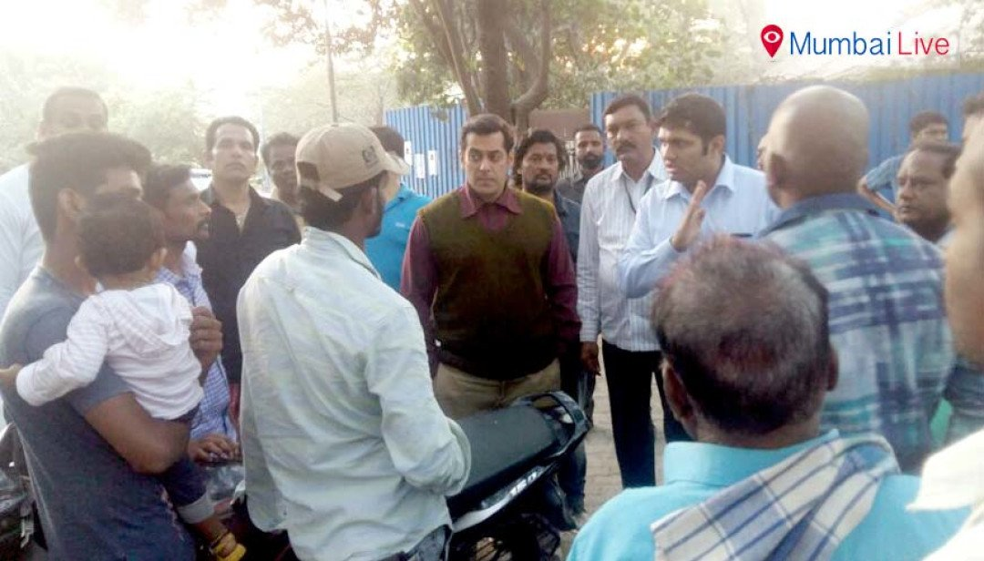 Salman's 'Dabangg' commitment to Aarey residents