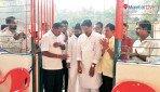 Inauguration of Baba Saheb Ambedkar's community hall