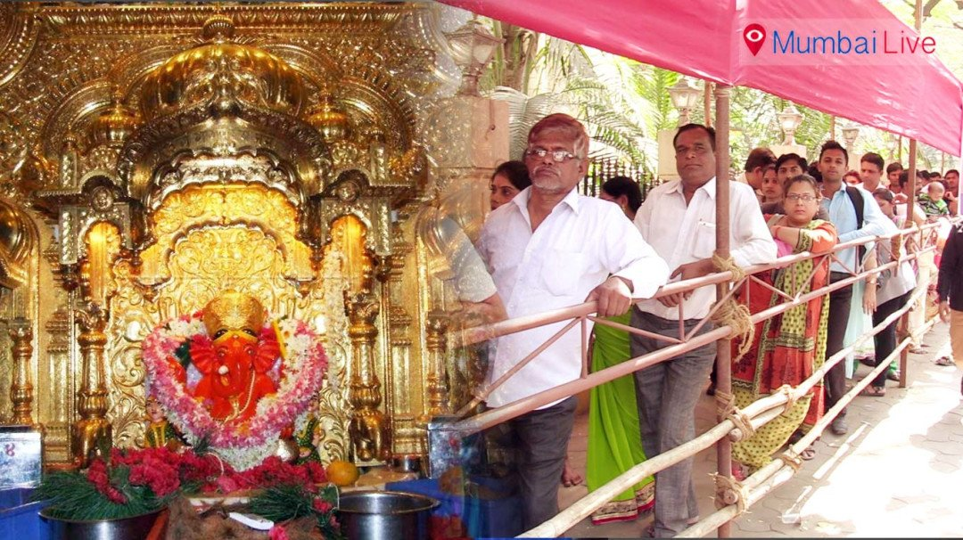 Security up at Siddhivinayak, no offerings allowed in temple