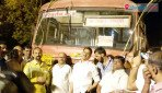 Satara special bus takes off