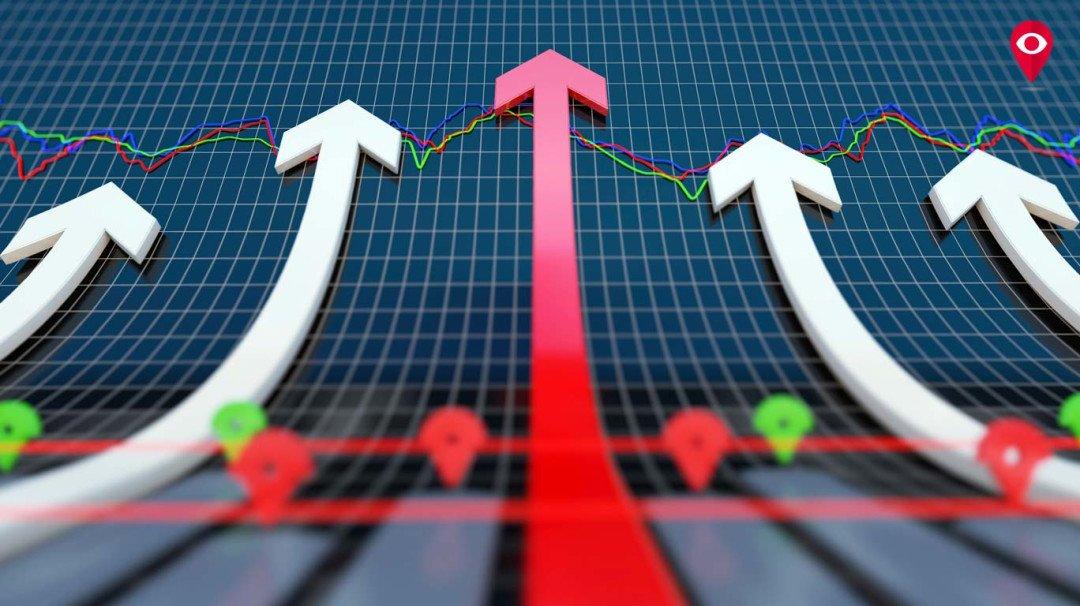 शेयर बाजार बढ़त के साथ