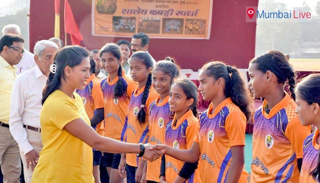 Patkar Vidyalaya team wins Kabaddi match