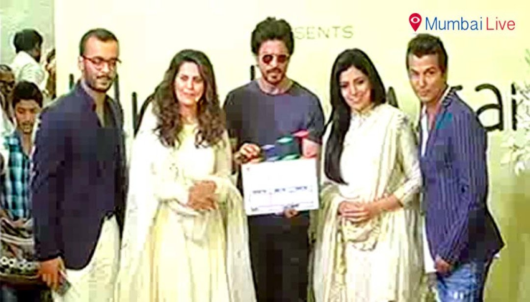King Khan was present at Marathi film mahurat