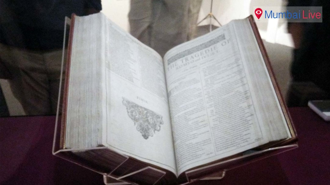 Shakespeare's 'First Folio' at museum