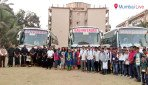 Congress flags off buses for Shirdi