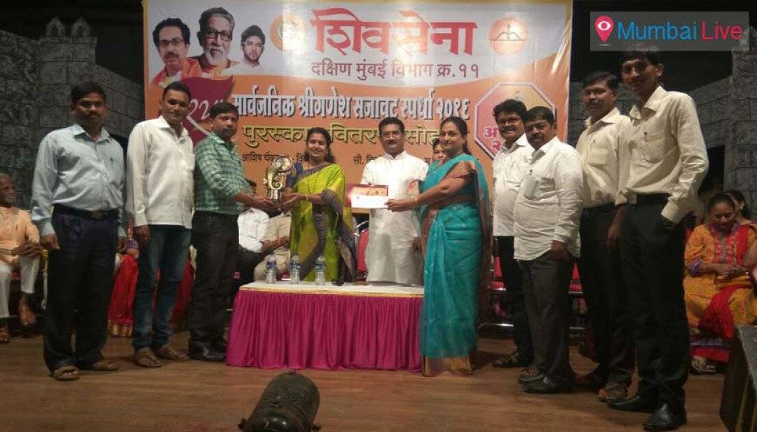 Sewri's mandal grabs Best Decorated Ganpati trophy!
