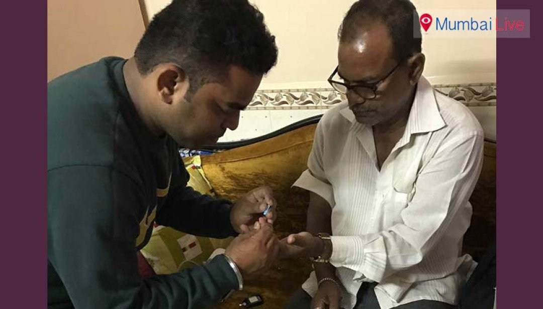 Corporator holds health check-up camp