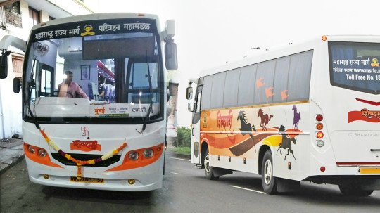 Travel to Goa in MSRTC's Shivshahi AC bus