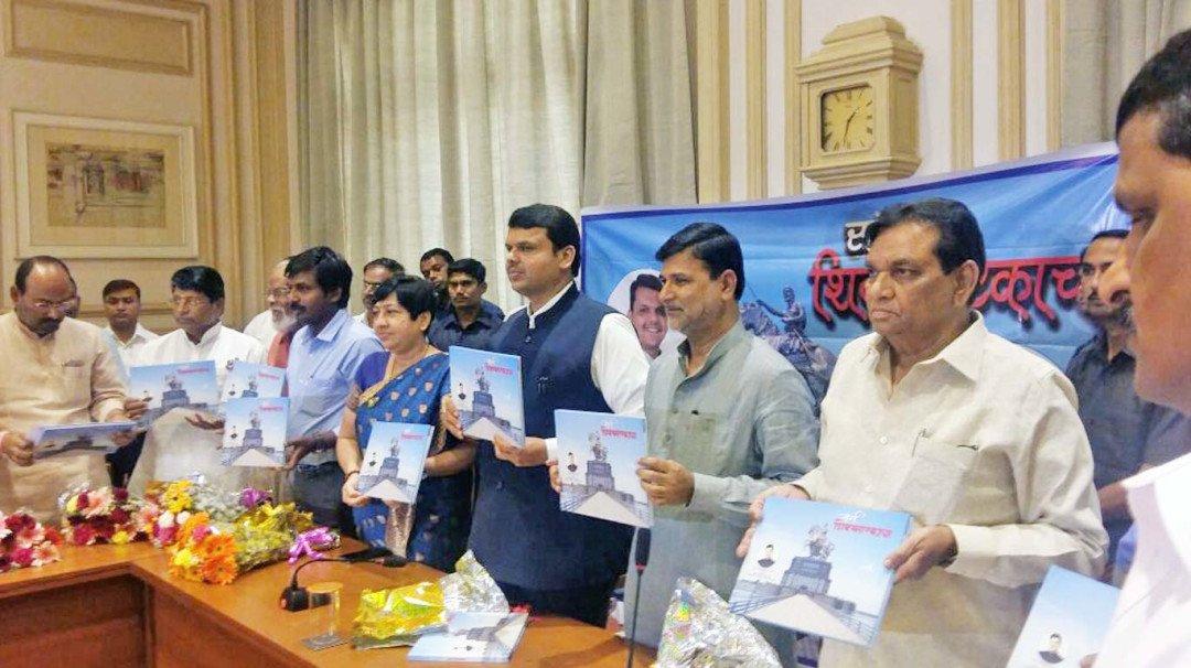 Vinayak Mete pens 'Sangharsha Shiv Smarkacha'