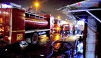 Fire engulfs shoe mart