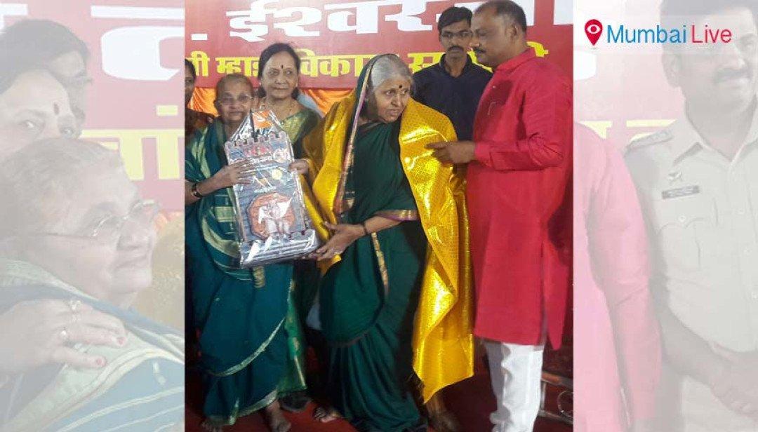 Sindhutai Sapkal graces Aai Mahotsav