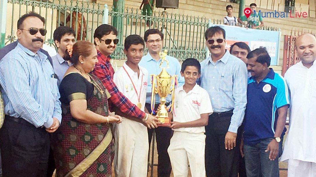 सिंघानिया स्कूल ने जीती श्री मा अंडर 13 ट्रॉफी