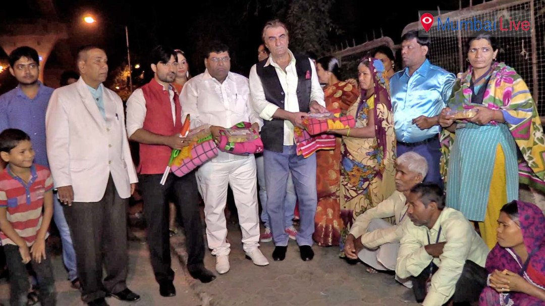 Blanket of warmth for the needy
