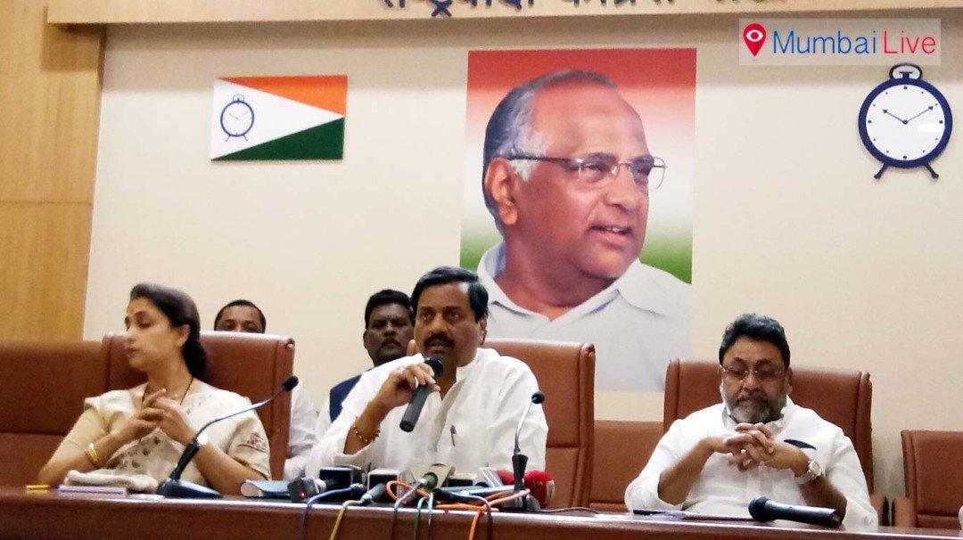 NCP's Sunil Tatkare takes a dig at Shiv Sena