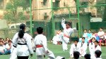 Students perform 'Taekwondo' on R-Day