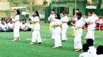 विद्यार्थ्यांचं 'तायक्वांडो' सादरीकरण
