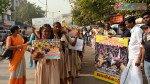 'जल्लीकट्टू'साठी धारावीत तामिळ विद्यार्थ्यांचे आंदोलन