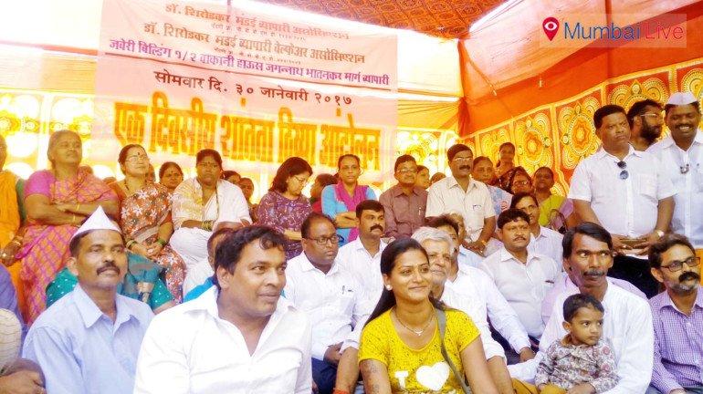 Shirodkar Market shop owners stage stir