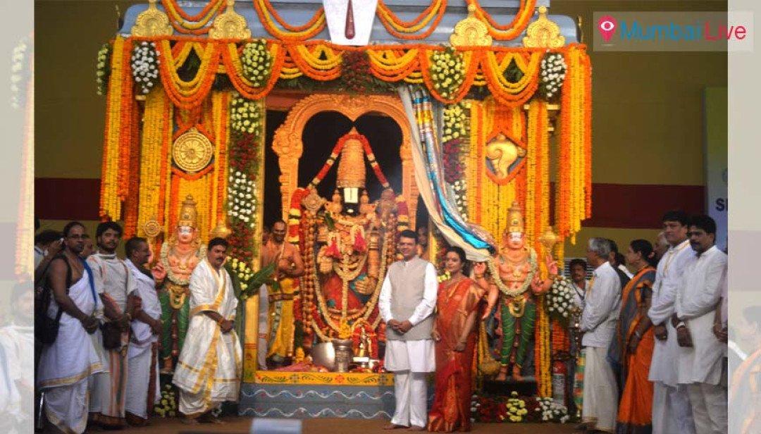 CM seeks blessings of Tirupati Balaji