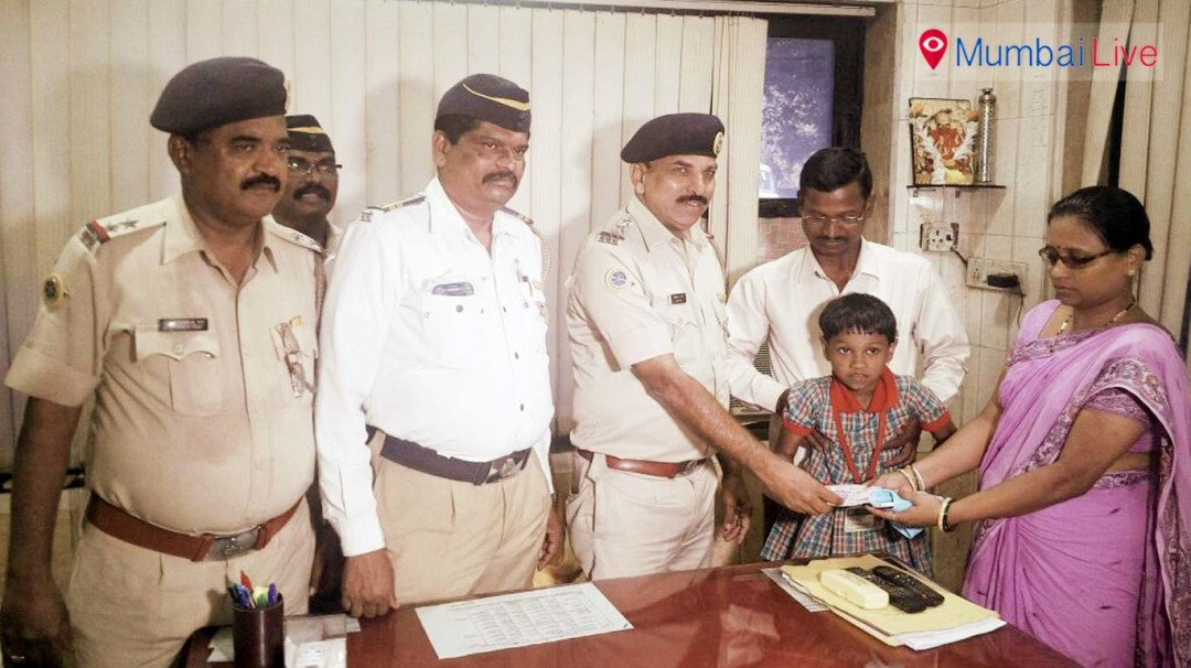 Chembur's traffic police return money to  family