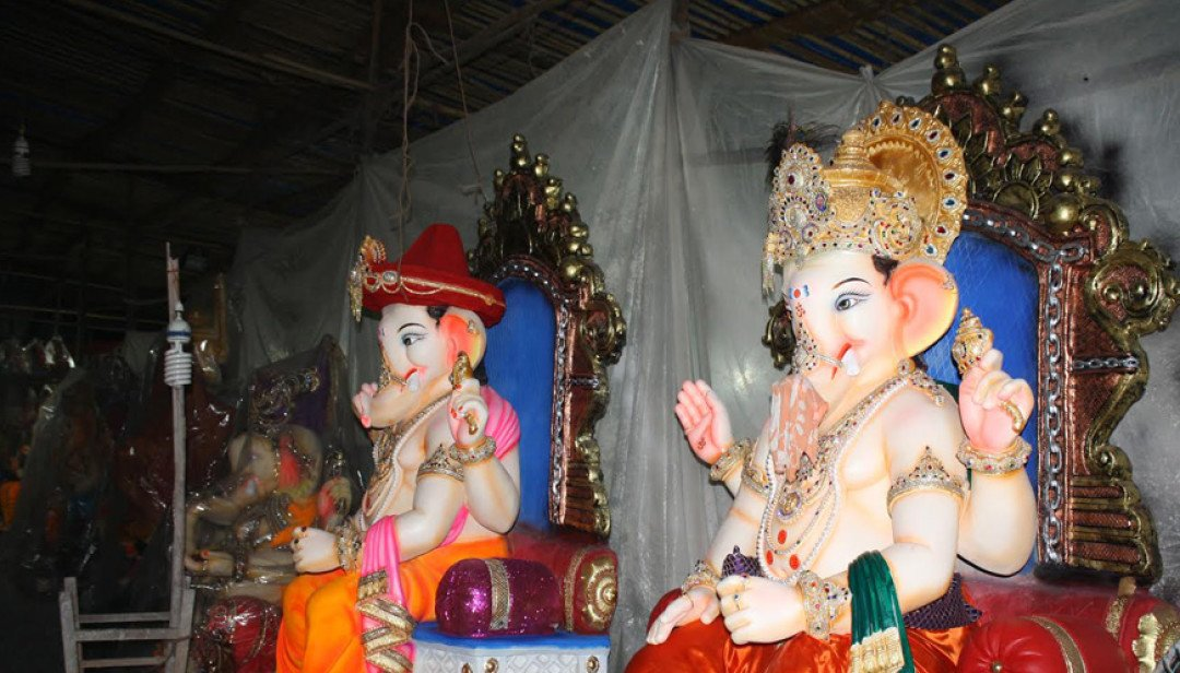 Bappa idols set to arrive in Mumbai