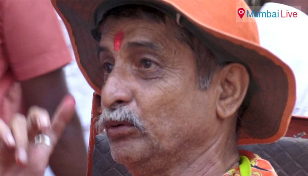 Wheelchair-bound Sainik stands out at rally