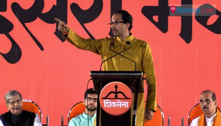 They(BJP) backstabbed us- Uddhav Thackeray